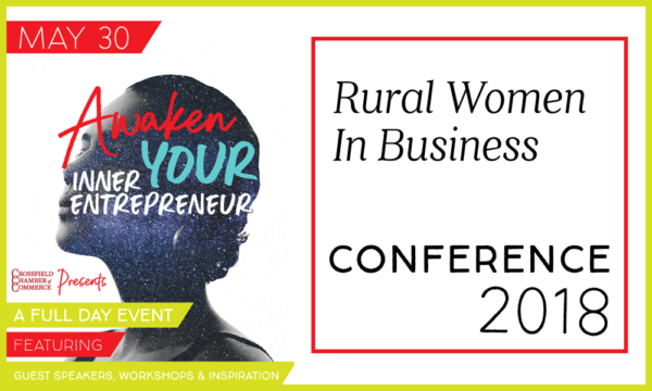 RWIB - Rural Women in Business Conference 2018